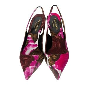 84fcbf49e4e6 kate spade Shoes - New Kate Spade Spring 2005 Collection Floral Heels